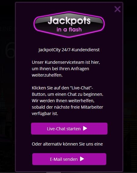 Jackpots in a flash support