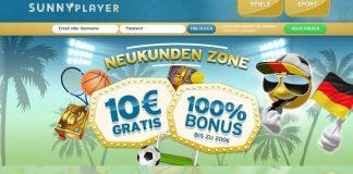 sunnyplayer bonus