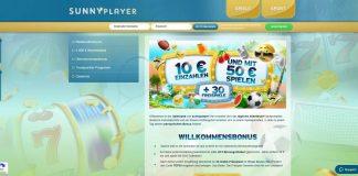 sunnypplayer bonus 50 EUR