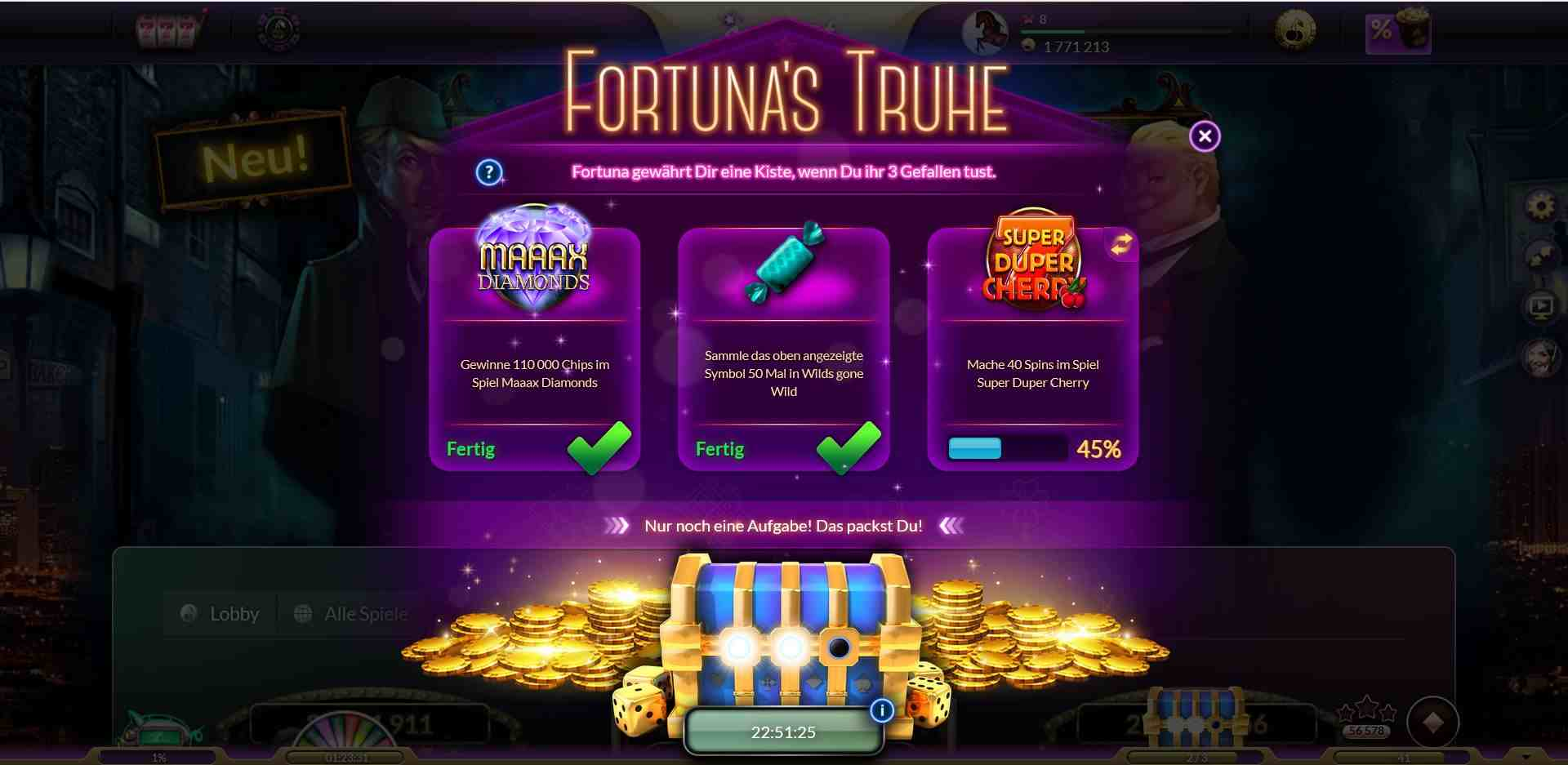 jackpot Casino Aufgaben