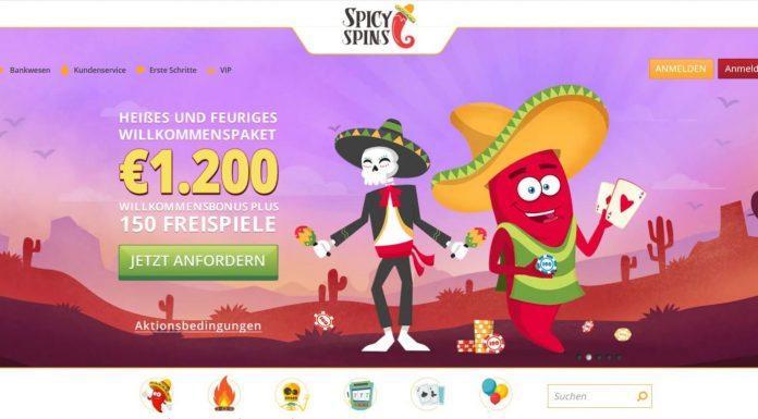 spicy spins Bonus