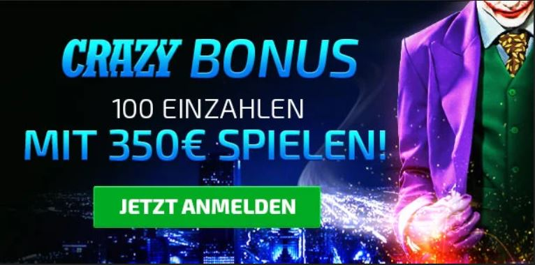 gocrazy crazy bonus